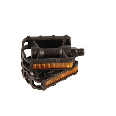 Volare Fietspedalen - 2 stuks - Voor 12 inch kinderfietsen - Zwart - Trappers