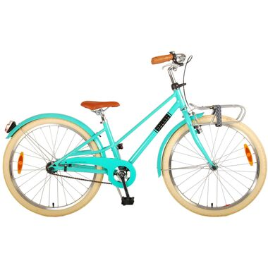Volare Melody Kinderfiets - Meisjes - 24 inch - Turquoise - Prime Collection