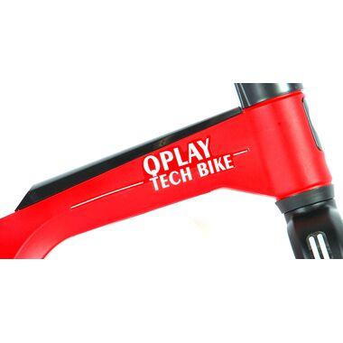 QPlay Tech Loopfiets - Jongens en Meisjes - 10 inch - Rood