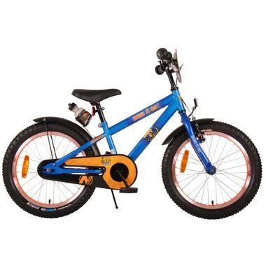 NERF Kinderfiets - Jongens - 18 inch - Satijn Blauw