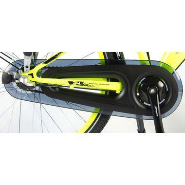 Volare Thombike City Kinderfiets - Jongens - 24 inch - Neon Geel - Shimano Nexus 3