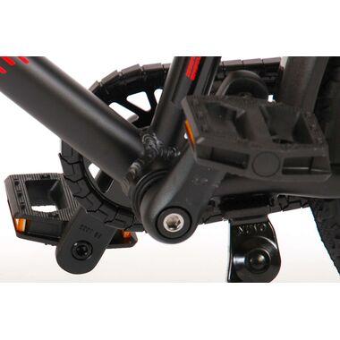 Volare Blaster Kinderfiets - Jongens - 16 inch  - Zwart Rood - Prime Collection
