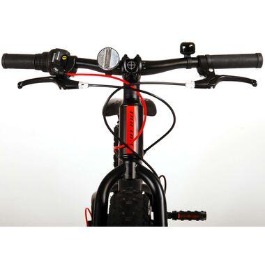 Volare Gradient Kinderfiets – Jongens – 20 inch – Zwart Oranje Rood – 6 speed – Prime Collection