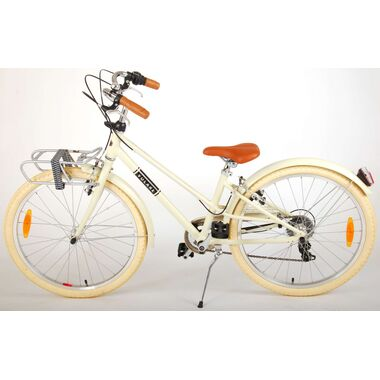 Volare Melody Kinderfiets - Meisjes - 24 inch - Zand - 6 speed - Prime Collection