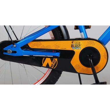 NERF Kinderfiets - Jongens - 20 inch - Satijn Blauw
