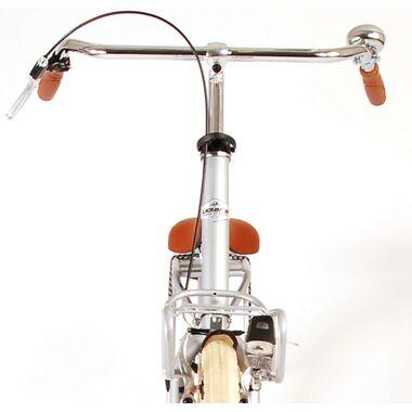 Volare Classic Oma Damesfiets - 45 centimeter - Mat Zilver