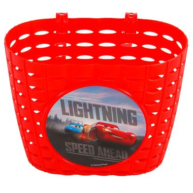 Disney Cars Plastic Mandje - Jongens - Rood