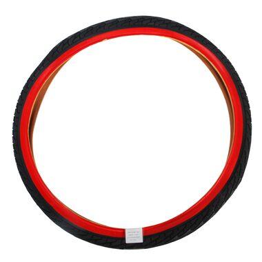 Volare Buitenband - 24 inch - Rood Zwart - Kinderfiets