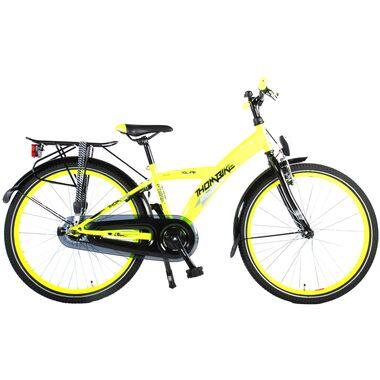 Volare Thombike City Kinderfiets - Jongens - 24 inch - Neon Geel
